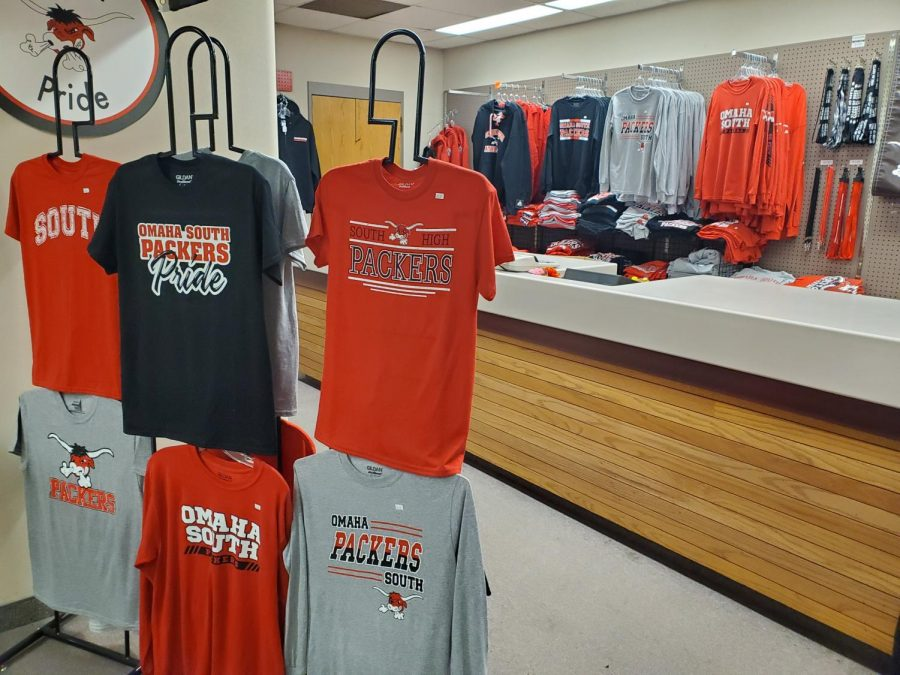 School store sells spirit wear