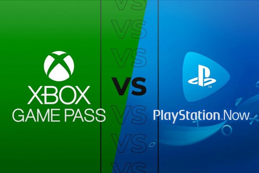 Xbox+Game+Pass+vs.+PlayStation+Now